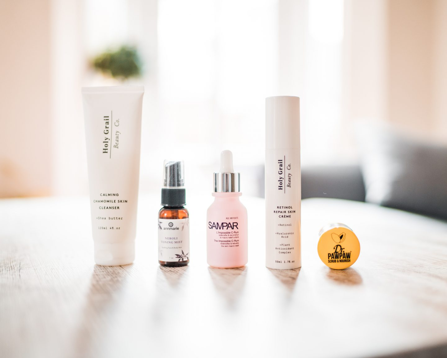 From basic to upgraded: my skincare routine story.