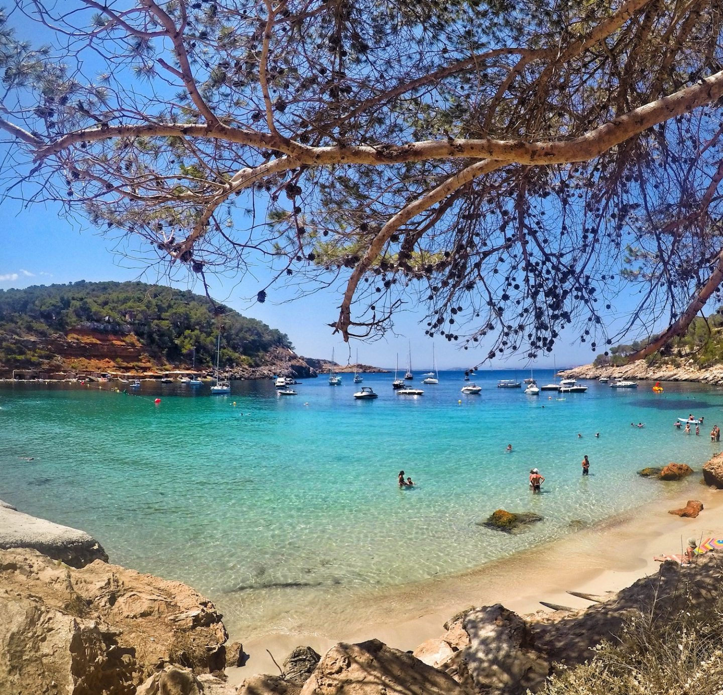 The unknown side of Ibiza